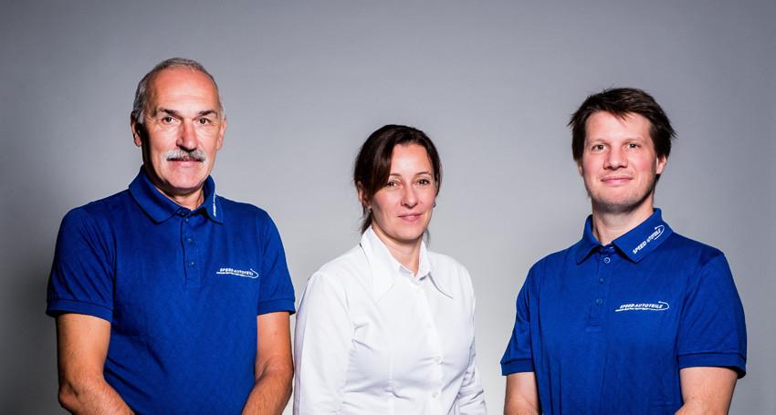 l.t.r. Uwe K. Kuether, Jenni C. Zimmermann, Roland P. Zimmermann